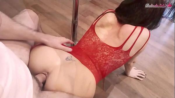 Hottie Stripper Rough Fucks and Gets Cum on Big...