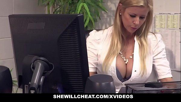 SheWillCheat - Busty MILF Boss Fucks New Employee