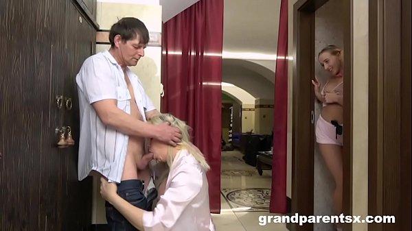 GrandParents didn't hear me Cum in