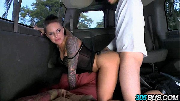 Christy Mack fucks a couple of dudes on the 305bus 3.2