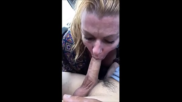 MILF Streetwalker Car Blowjob