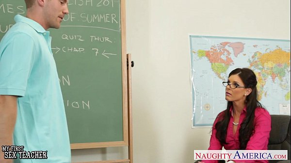 Tiny titted teacher India Summer fuck her young student Thumb