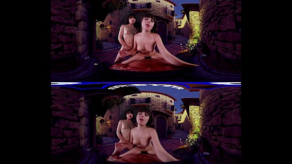 EvilEyeVR - A Surprised Menage a Trois with Alison Rey and Luna Rival