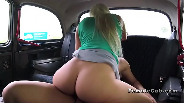 Big ass blonde cab driver fucks Thumb