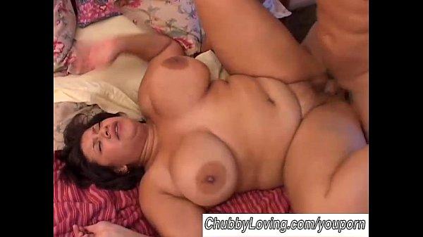 Beautiful big tits BBW brunette boned Thumb