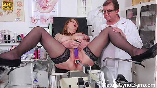 Freaky doctor examines czech BBW peasant woman Thumb