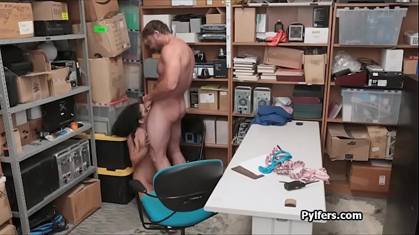 Storage room quickie with busted Latina thief Thumb
