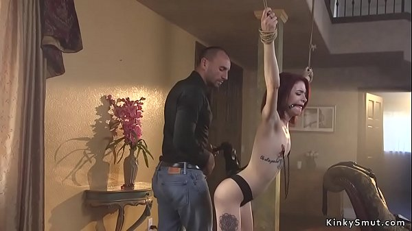 Convenient spinner wife anal in bondage Thumb