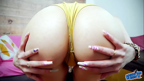 Incredible Ass Puffy Pussy on Skinny Babe Perfection