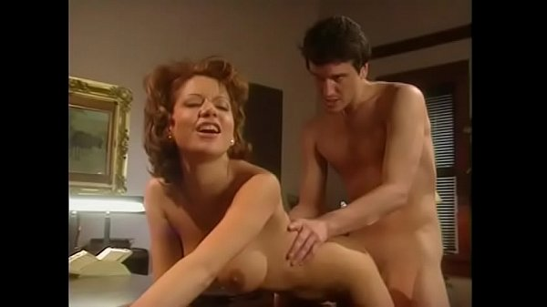 Hot redhead fucks her boss and eats his cum in exchange for raise