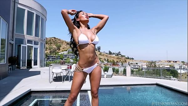 JulesJordan.com - Amia Miley Gets A Luxurious Fuck By A 12' Cock