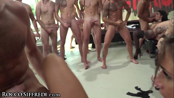 RoccoSiffredi Euro Sex Party With DP Anal Girl On Girl & MORE Thumb