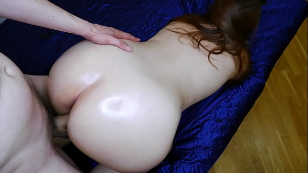 Doggystyle fucked hard with big ass milf and creampie
