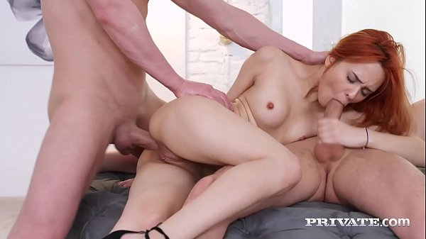 Private.com - Hot Redhead Michelle Carr Ass & Pussy Fucked!
