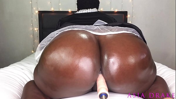 Sexy Black BBW Maid Finds The Bosses Fuck Machine