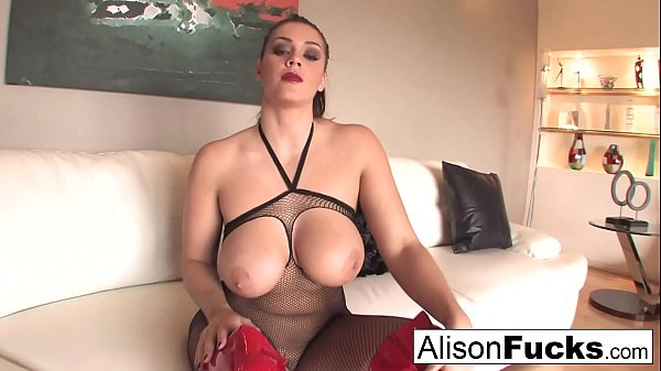 Alison Tyler makes you jerk your cock off for her