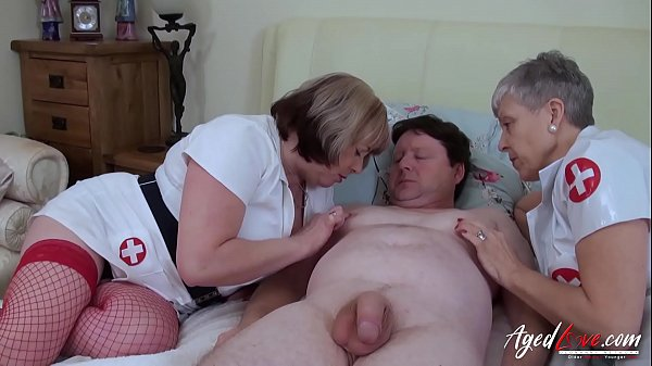 AgedLovE Horny Matures on Nasty Doctor Clinic Thumb
