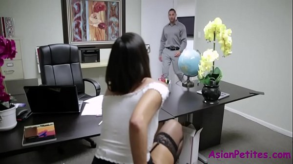 Sneaking Dildo & Getting Fucked In Office- Lexi Mansfield