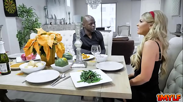Will Tile attends to Kalya Kaydens delicious Thanksgiving dinner