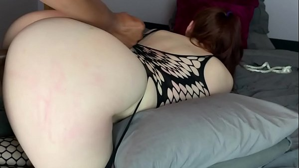 Vibrant Redhead bound and demolished by BBC • Amateur JayJadeMoon