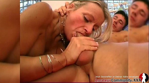 Mature blonde enjoys to feel a hard cock inside...