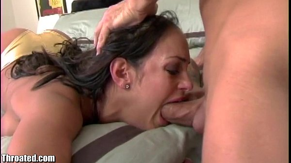 Throated Compilation of best facefucks and thro...