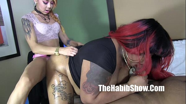 phat booty bbw ms giggles banged by lil asian and bbc
