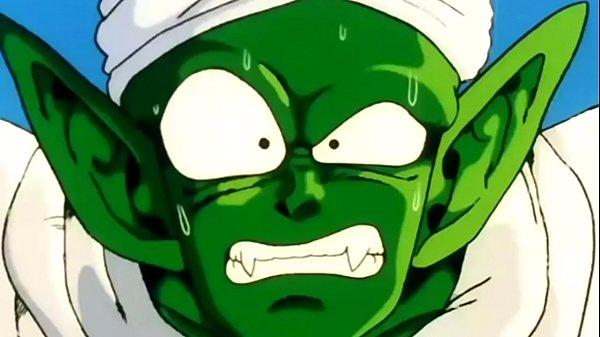 Piccolo fica com o cú na mão após enfrentar raditz