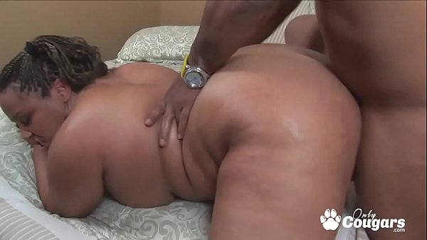 Nina Perez Has Her Fat Black Ass Nailed From Be...