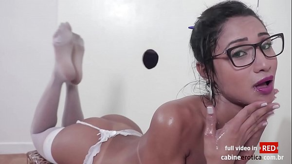 Horny Niara swallowing and fucking hot in our gloryhole! Huge cum on her mouth! Promo