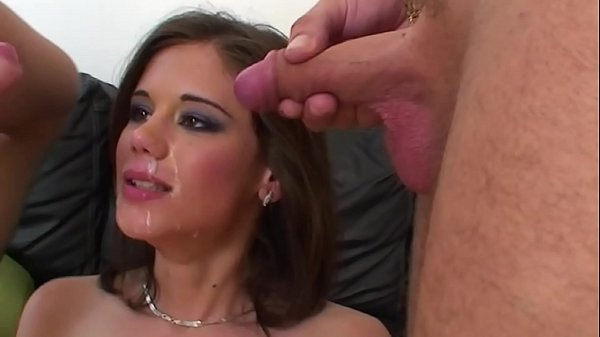 Young and sexy slut has hard sex with two guys Thumb