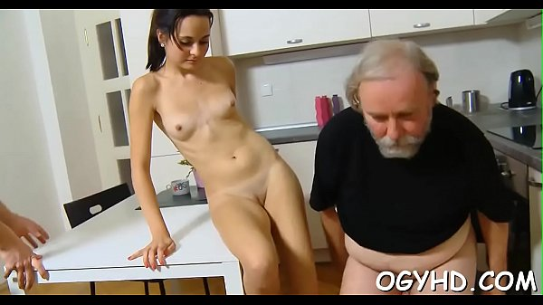 Old guy bangs young pussy