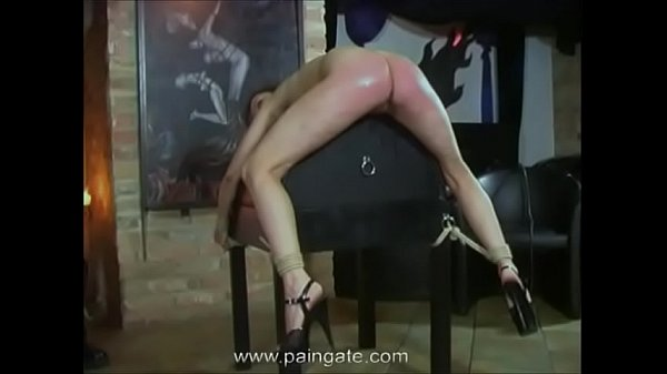 Cruel ass-whipping for arrogant dancing girl - ...