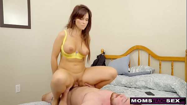 MomsTeachSex - Slutty MILF Makes StepSon Cum Inside! S8:E10 Thumb