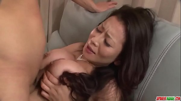 Sexy Asian mom reaches orgasm during sex with her step son - More at Japanesemamas com