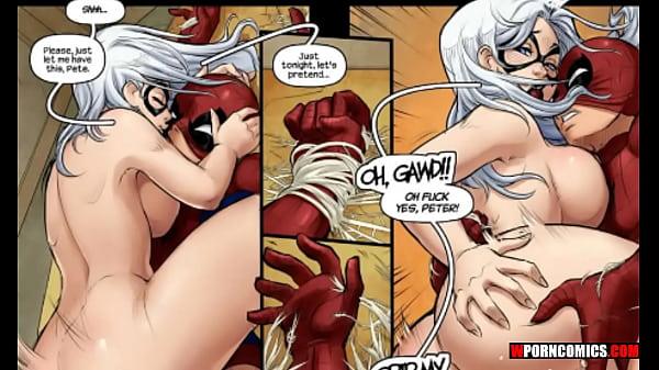 Porn comic The Nuptials. Spider-Man. wporncomic...
