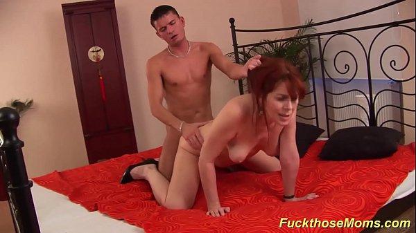 redhead moms hairy pussy fucked
