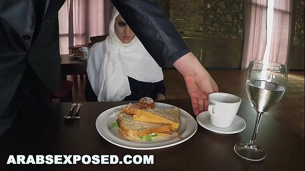 ARABSEXPOSED - Hungry Woman Gets Food and Fuck ...