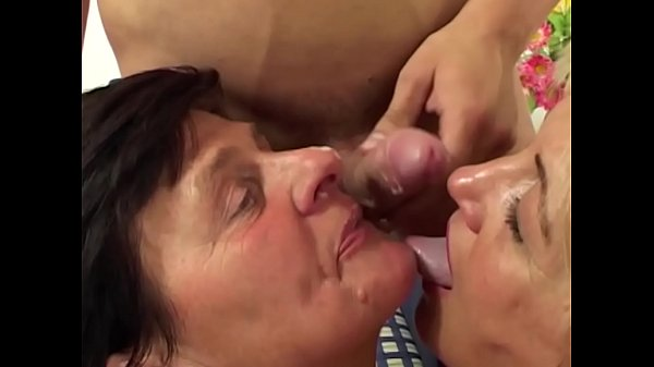 MomsWithBoys - Sexy Mom Having Two Cocks In Her...