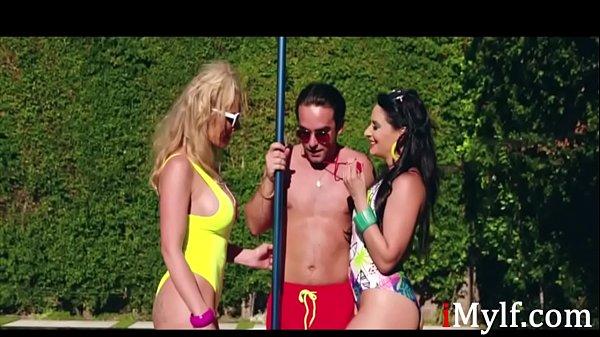 70s MILFs Fuck The PoolBoy- Rachae Cavalli Sheena Ryder Thumb