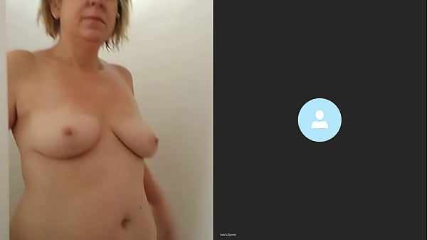Wife showering on skype Thumb