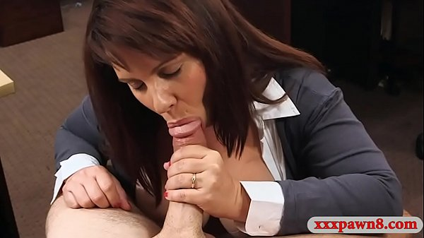 Huge tits milf pounded by nasty pawn man