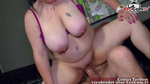 german fat big natural tits housewife at her first porn casting Thumb