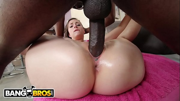 BANGBROS - Sexy Babe Summer Rae Gets Her Big Ass Pounded With Big Black Cock