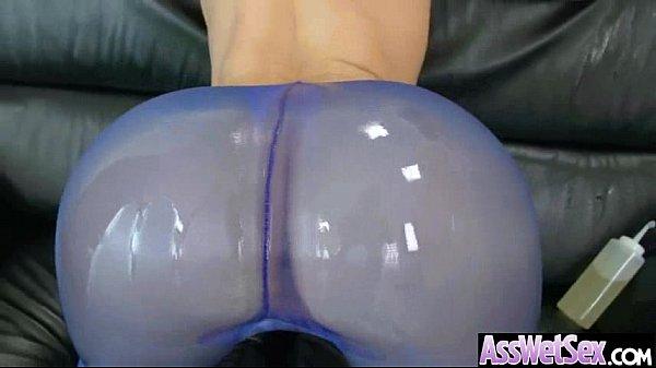Big oiled butt