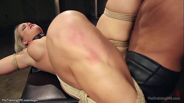 Busty MILF anal interracial banged