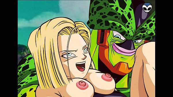 DBZ- Android 18 and Cell Porn