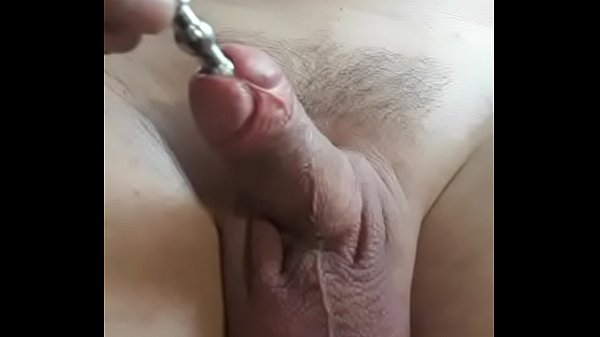Rod insertion into penis