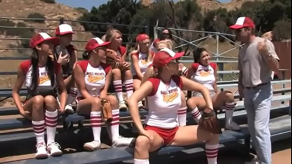 A baseball team full of sluts uses their bodies to distract the opponent