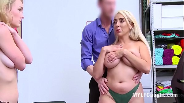 Mom And Daughter Caught Stealing And Fucked- Kylie Kingston, Natalie Knight